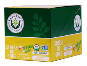 Kuli Kuli - Moringa Stress Be Gone Function Forward Wellness Shot - Honey Chamomile - 2.5 FL oz.
