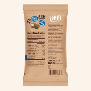 Lebby Chickpea Snacks - Mocha - 1.5 oz.