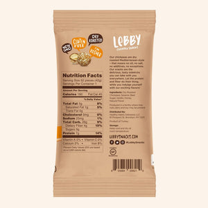 Lebby Chickpea Snacks - Sesame Honey - 1.5 oz.