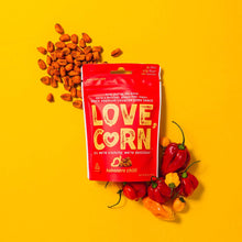 Load image into Gallery viewer, Love Corn - Roasted Corn Snack - Habanero Chilli - 1.6 oz