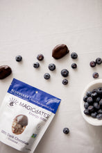 Load image into Gallery viewer, MAGICdATES - 100% Dark Chocolate Covered Blueberry Energy Bites - 3.5 oz.