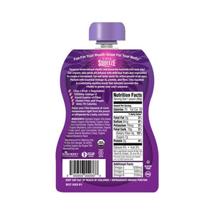 Mamma Chia Squeeze Vitality Snack - Blackberry Bliss - 3.5 oz.