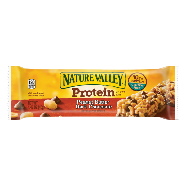 Nature Valley - Peanut Butter Dark Chocolate - Protein Chewy Bar - 1.42 oz.