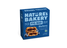 Load image into Gallery viewer, Nature's Bakery Stone Ground Whole Wheat Fig Bar - Blueberry