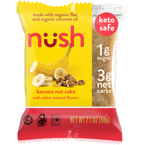 Nush - Banana Nut Cake - 2.1 oz.