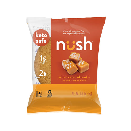 Nush - Salted Caramel Cookie - 1.6 oz.