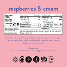 Load image into Gallery viewer, Nush - Raspberries & Cream Flavored Cake - 2.1 oz.