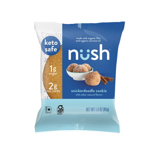 Nush - Snickerdoodle Cookie - 1.6 oz