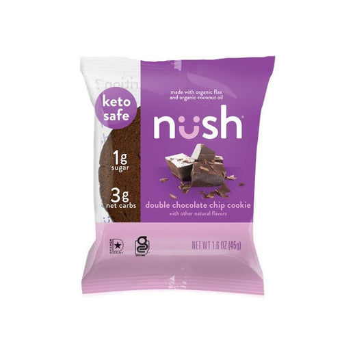 Nush - Double Chocolate Chip Cookie - 1.6 oz.