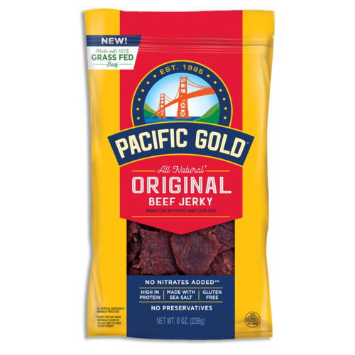 Pacific Gold - All Natural Beef Jerky - 1.25 oz - 12 G Protein