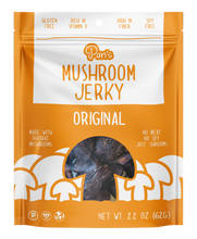 Load image into Gallery viewer, Pan's Mushroom Jerky - Original Flavor - 2.2 oz.