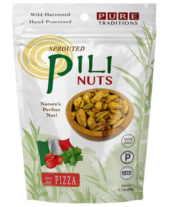 Pure Traditions Foods - Pili Nuts - Pizza (Dairy Free) - 1.7 oz