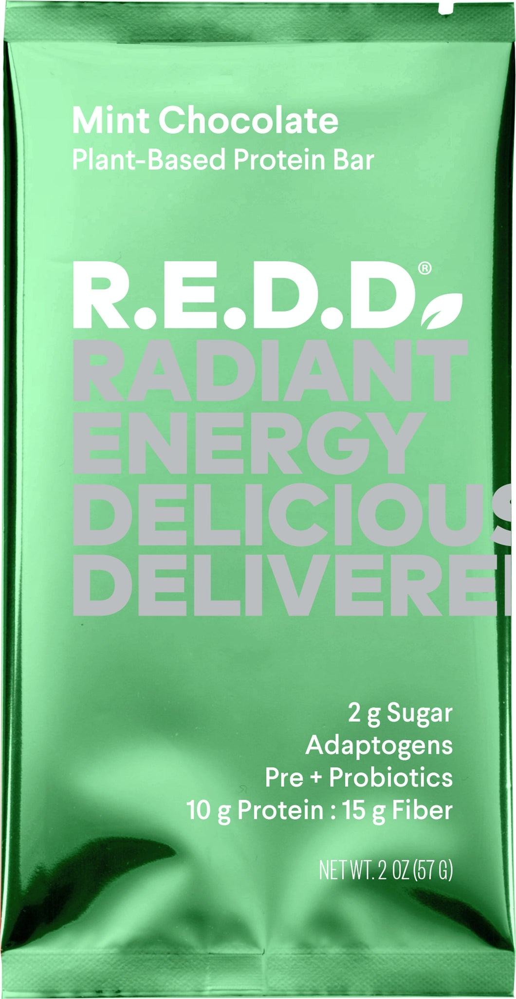 R.E.D.D. Mint Chocolate Plant-Based Protein Bar - 2.0 oz.