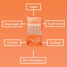 Load image into Gallery viewer, R.E.D.D. Salted Caramel Plant-Based Protein Bar - 2 oz.