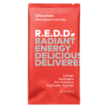 Load image into Gallery viewer, R.E.D.D. Chocolate Plant-Based Protein Bar - 2 oz.