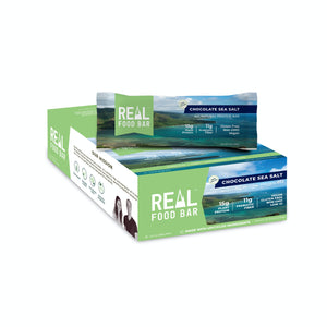 Real Food Bar - Chocolate Sea Salt All Natural Protein Bar - 2.12 oz.