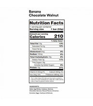 Load image into Gallery viewer, RXBAR - Banana Chocolate Walnut - 12 G. Protein