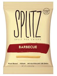 Splitz Split Pea Crisps - Barbecue - 1.5 oz.