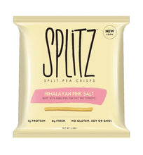 Load image into Gallery viewer, Splitz Split Pea Crisps - Himalayan Pink Sea Salt and Tumeric - 1.5 oz