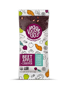 Wild Made Snacks - Veggie Go's Fruit & Veggie Strips - Beet Apple & Cinnamon - .42 oz.
