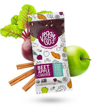 Load image into Gallery viewer, Wild Made Snacks - Veggie Go's Fruit & Veggie Strips - Beet Apple & Cinnamon - .42 oz.