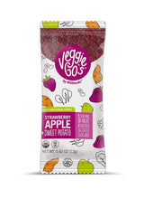 Load image into Gallery viewer, Wild Made Snacks - Veggie Go's Fruit & Veggie Strips - Strawberry Apple Sweet Potato - .42 oz.