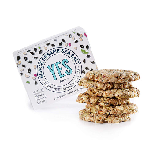 Yes Bar - Black Sesame Sea Salt - 1.4 oz.