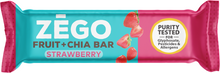 Load image into Gallery viewer, Zego Fruit & Chia Bar - Strawberry Chia .88 oz