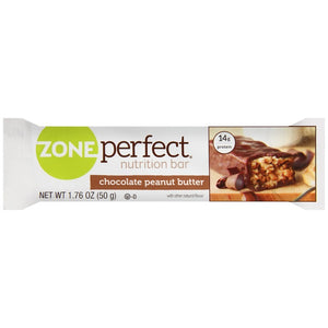 Zone Perfect Nutrition Bar - Chocolate Peanut Butter - 14g Protein