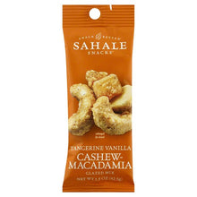 Load image into Gallery viewer, Sahale Snacks - Tangerine Vanilla Cashew-Macadamia Glazed Mix - Grab & Go