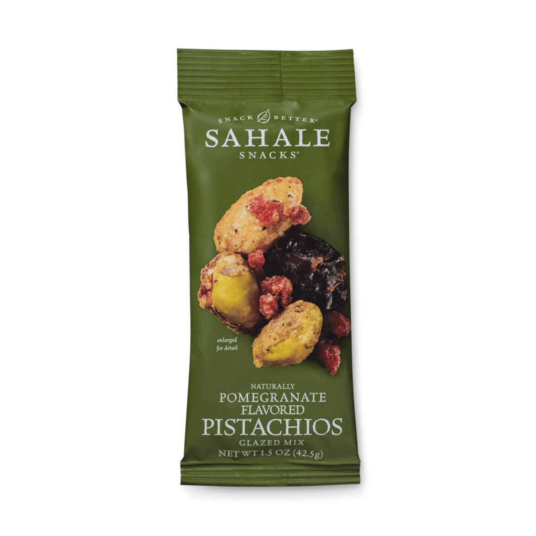 Sahale Snacks - Pomegranate Flavored Pistachios Glazed Mix - Grab & Go