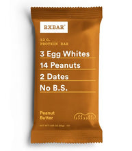Load image into Gallery viewer, RXBAR - Peanut Butter - 12 G. Protein