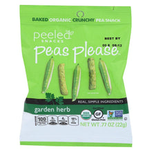 Load image into Gallery viewer, Peeled Snacks - Peas Please - Garden Herb - .77 oz