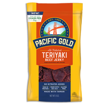 Load image into Gallery viewer, Pacific Gold - All Natural Teriyaki Beef Jerky