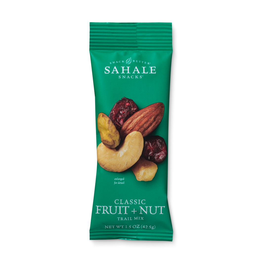 Sahale Snacks - Classic Fruit & Nut Trail Mix - Grab & Go