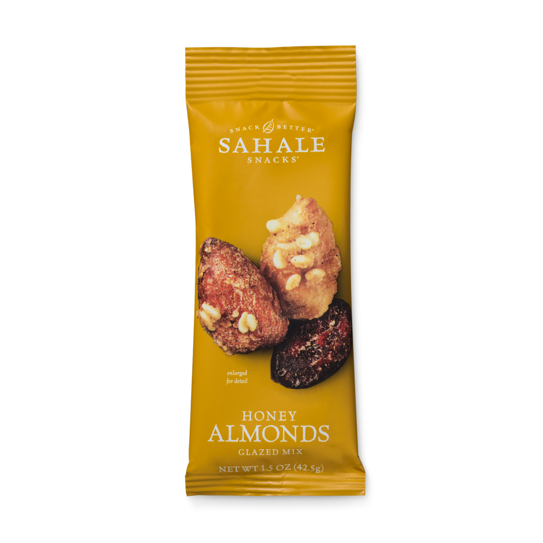 Sahale Snacks - Honey Almonds Glazed Mix - Grab & Go