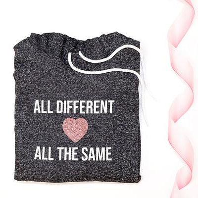 ALL DIFFERENT // ADULT UNISEX HOODED SWEATER