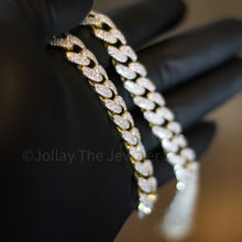 Load image into Gallery viewer, 12mm Fresh Frozen Miami Cuban (Yellow Gold Finish) - Jollay The Jeweler