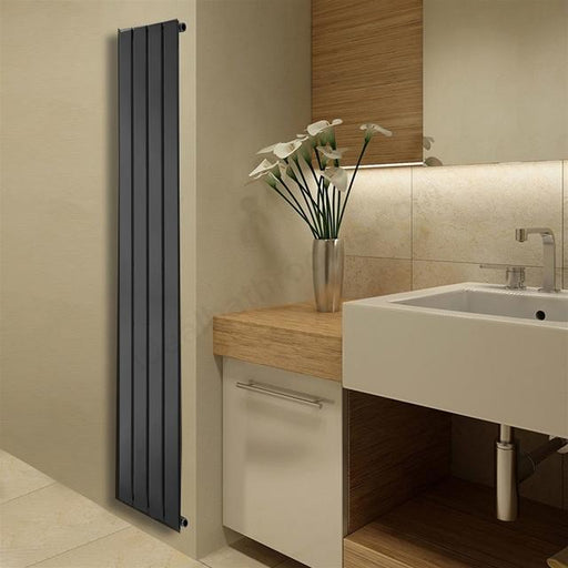 Essential Virgo Towel Warmer - 308mm X 1800mm   - Anthracite