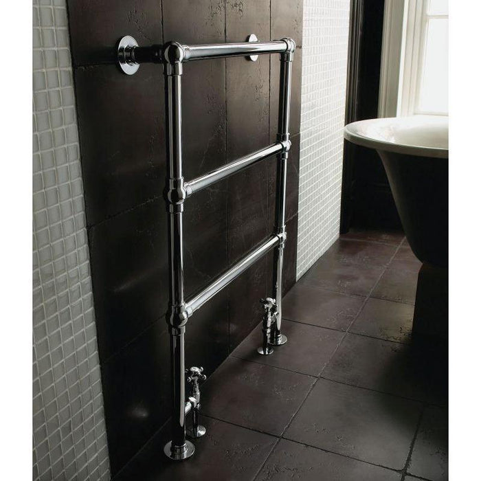 Imperial Lund Floor Radiator - Chrome
