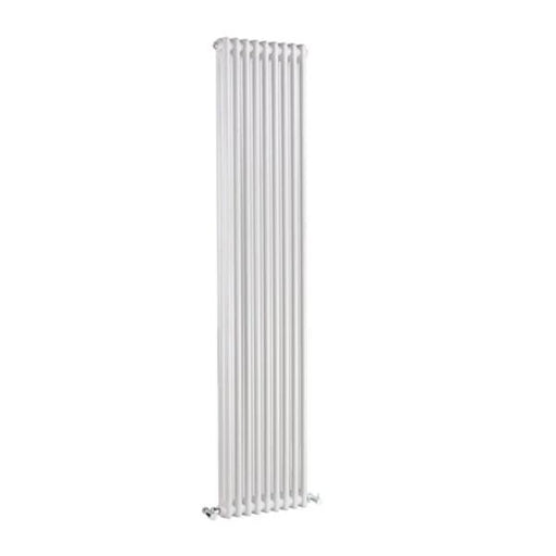 Bayswater Nelson Vertical Double Radiator - White