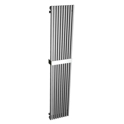 Abacus zola Designer Vertical Towel Rail-Brushed StaInless steel