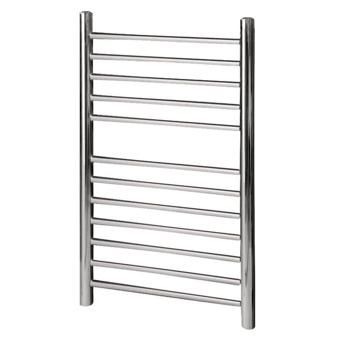 Abacus Elegance Profile Vertical Towel Rail - Polished StaInless steel