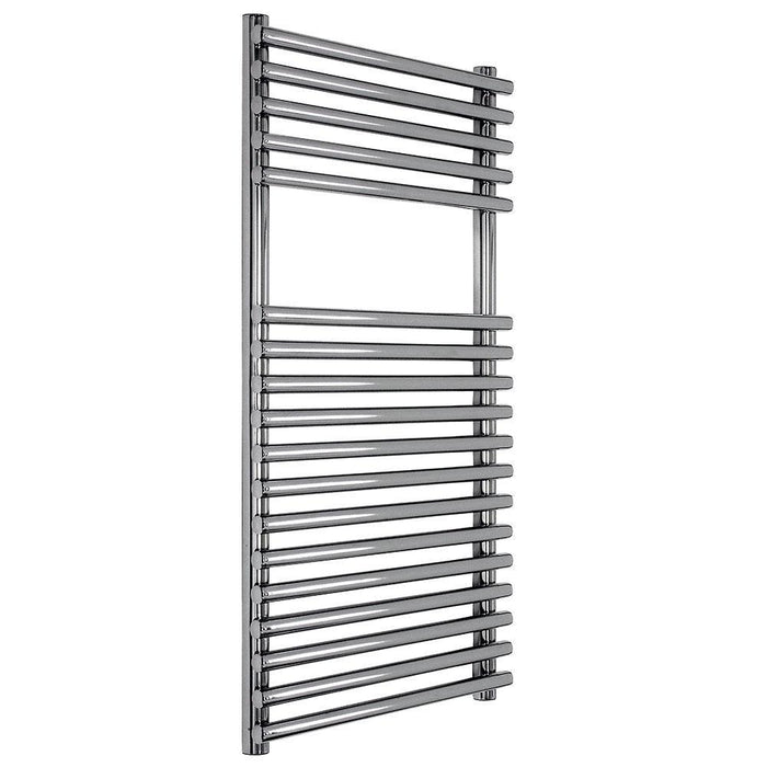 Abacus Elegance Strato Tube On Tube Vertical Towel Rail -Chrome