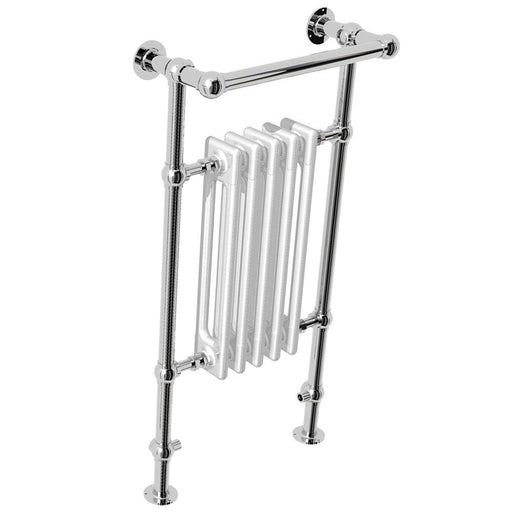 Abacus Elegance Half Sorereign Vertical Traditional Towel Rail - Chrome