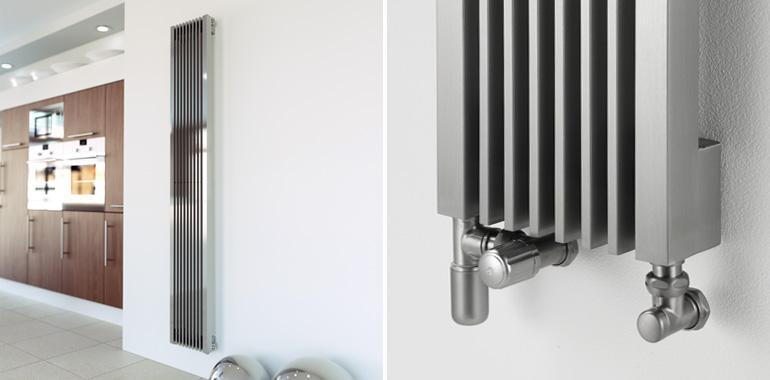 Aeon Stria Designer Stainless Steel Radiator