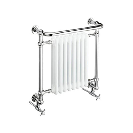 Heritage Clifton Wall Hung Heated Towel Rail Chrome