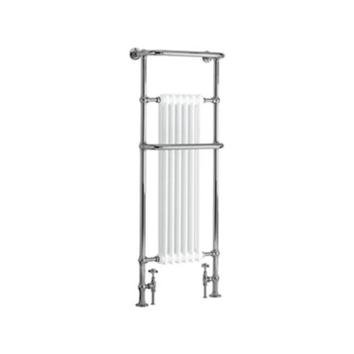 Heritage Cabot Heated Towel Rail Chrome