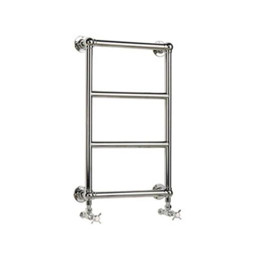 Heritage Portland Wall-Mounted Heated Towel Rail Chrome