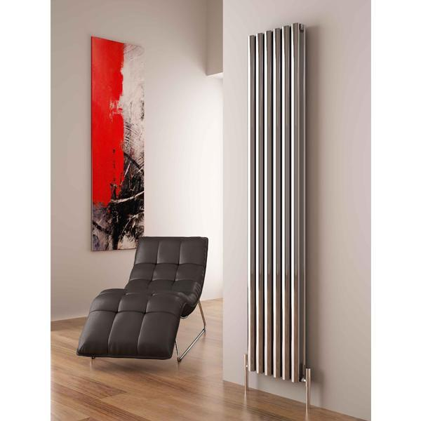 Carisa Tallis Double Panel Vertical Designer Radiator